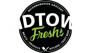 A theme logo of Midtown Fresh Market